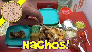 Loaded Beef Nachos Piled High! - Cooking Miniature Food - Kids Toy Oven