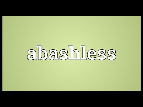 Header of Abashless