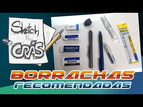 Borrachas recomendadas - Sketch Crás