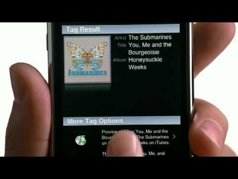 Apple iPhone 3G Commercial-Shazam