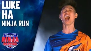 Luke Ha Full Run   Australian Ninja Warrior 2017