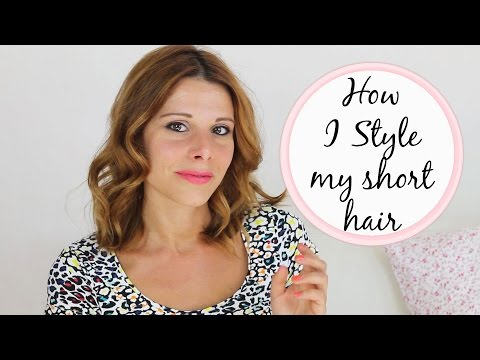 How I Style My Short Hair Ghd Creative Curl Wand