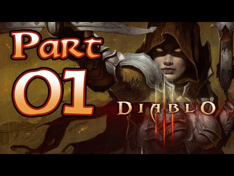 Diablo 3 III Gameplay – Demon Hunter Class