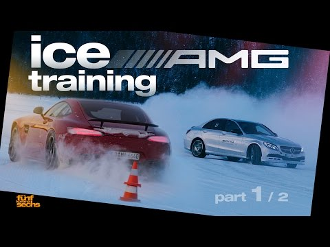Advanced Winter Training with the AMG Driving Academy / Pt.1 (English/German)