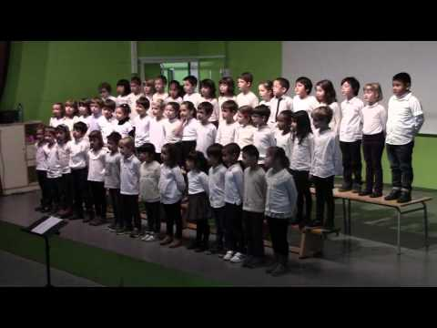 Escola Fort Pienc - Concert de Nadal 2015 - 1r