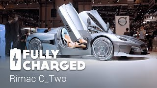 Rimac Concept Two electric hypercar | Fully Charged