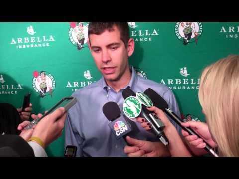 Boston Celtics coach Brad Stevens postgame 11/8/2014