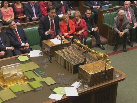LOL! Ed Miliband and David Cameron laugh out loud during PMQs