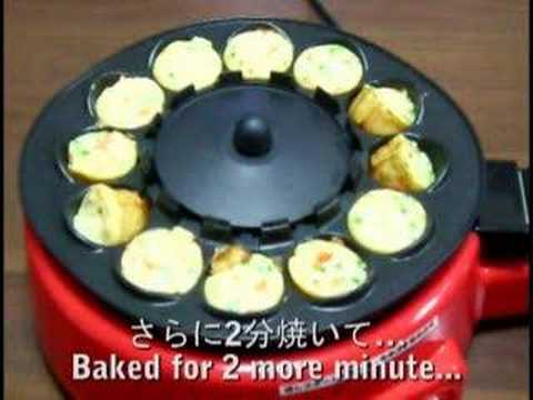 - TRY! Automatic TAKOYAKI Cooker