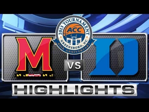 Maryland vs Duke Highlights: ACC Men's Basketball Tournament - Quarterfinals