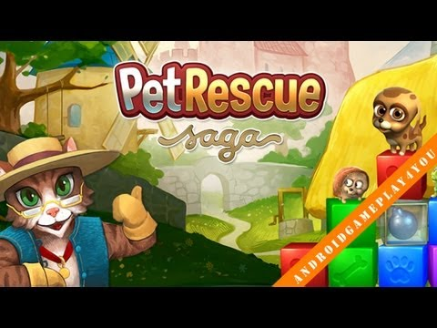 Pet Rescue Saga Android Game Gameplay