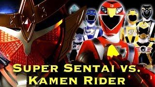 FAN FILM: Super Sentai vs. Kamen Rider