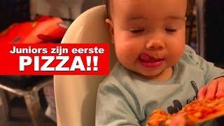 JUNIOR EET ZIJN EERSTE PIZZA! - De Nagelkerkjes #44