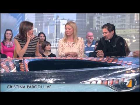 "Cristina Parodi ospita Don Elvis in ""Cristina Parodi live"" – puntata dedicata alla neo castità"