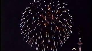 1998 Auckland Power Crisis Fireworks