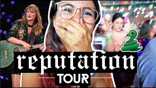 🐍 MI EXPERIENCIA EN EL CONCIERTO DE TAYLOR SWIFT REPUTATION STADIUM TOUR | Princolitas