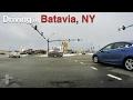 Driving in Batavia, NY