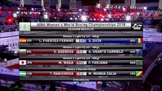 AIBA Women's World Boxing Championships New Delhi 2018 Session 3 A