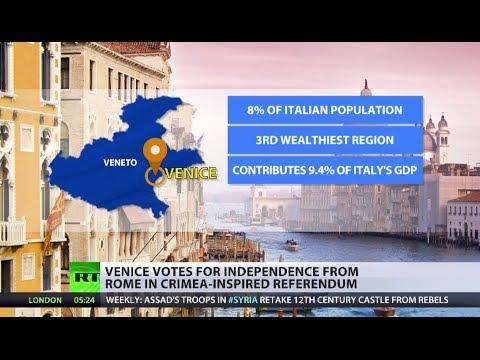 Venice Referendum: Crimea encouraged vote to take place