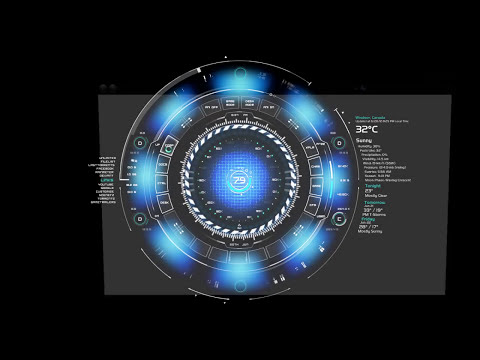 Windows Desktop Mod - Arc Reactor