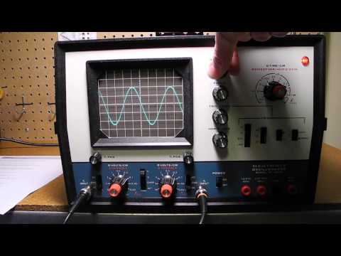 The Heathkit IO-4205 Dual Trace Oscilloscope