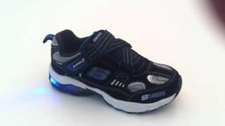 Skechers Leuchtschuhe S Lights - 90401 BKRY