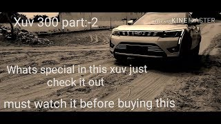Mahindra xuv300 2019 w8 optional model,offroad test, speed test, top speed test, normal water cross