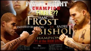"""FROST VS. BISHOP! WHO WINS?? ( FUNNY """"FIGHT NIGHT CHAMPION"""" GAMEPLAY)"""