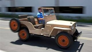 Jeep Evolution: 1945 Jeep CJ vs. 2012 Jeep Wrangler