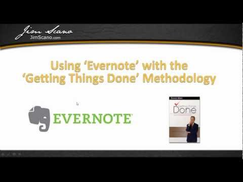 Evernote and GTD Simple Setup Tutorial