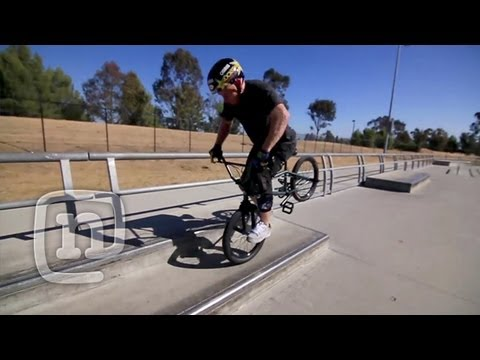 How To Hang Five On A BMX With Ryan...