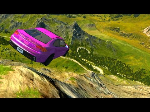 Cliffs Of Death - BeamNG DRIVE EP 2