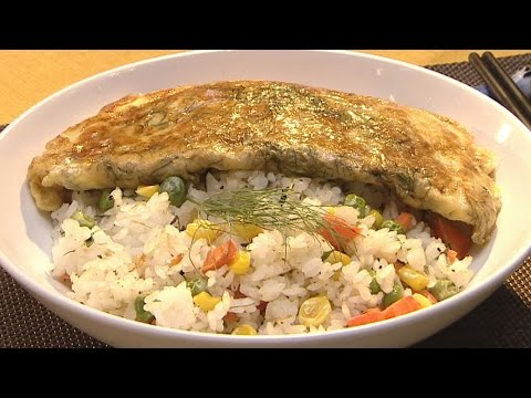 現代心素派-20150706 名人廚房 - 尼克、馬克 - 宅男晚餐 - 茴香蛋蓋飯、當歸青菜豆腐