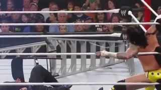 WWE Summerslam 2009 Jeff Hardy vs CM Punk TLC Match 720pHD
