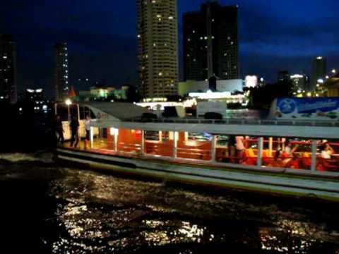 Taxi Boat Hotel Boat Chao Praya River