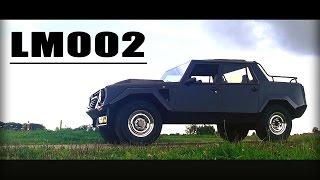 LAMBORGHINI LM002 1988 - Full test drive in top gear - V12 Engine sound | SCC TV