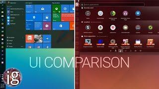 windows 10 vs linux ui comparison infinitelygalactic linux vs windows ...