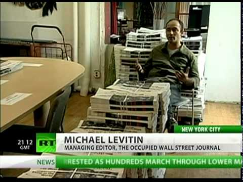 The Occupied Wall Street Journal -- news from the revolution