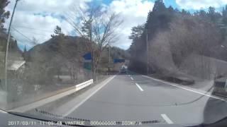 ドライブレコーダー【震災から6年目】 2017.3.11 福島県南相馬市