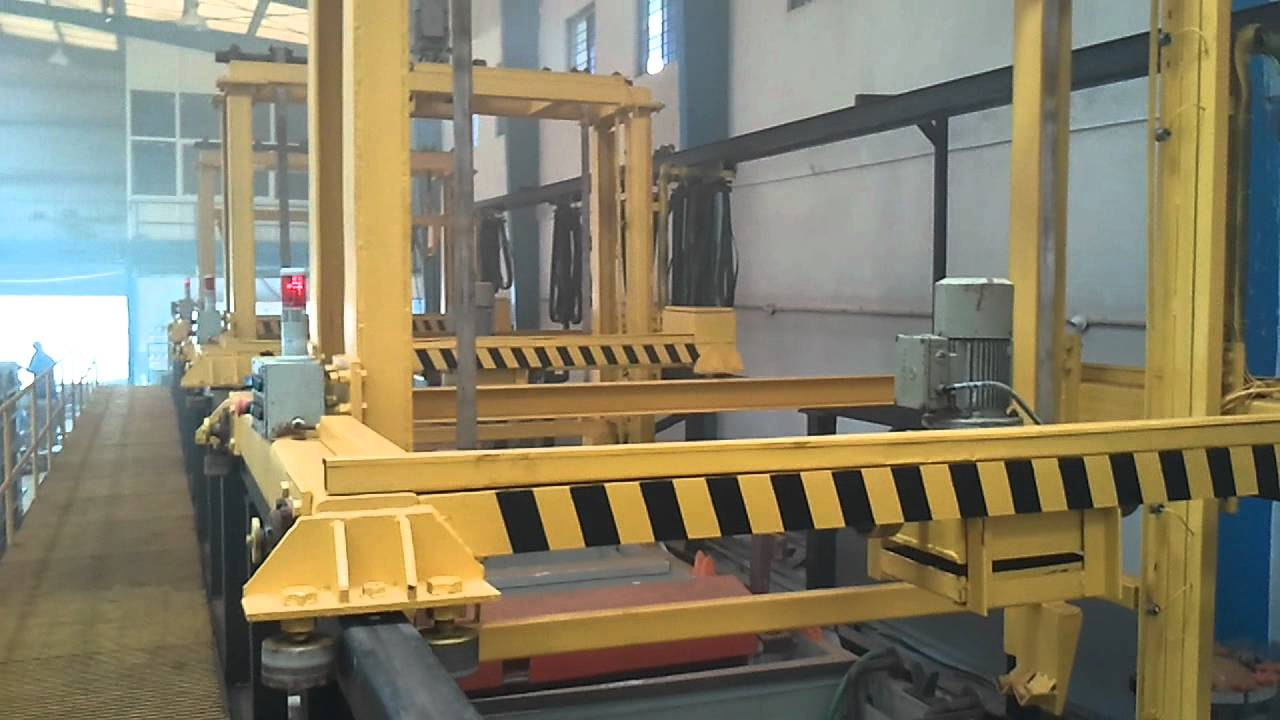 Automatic Zinc Electroplating Plant With Transporter And