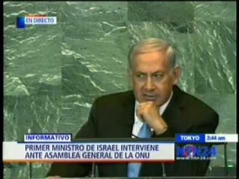 Discurso de Netanyahu en la ONU (En Español)