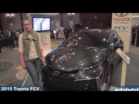 2015 Toyota FCV Hydrogen Fuel Cell Vehicle @ LA Entertainment Summit
