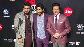 Anil Kapoor With Family - Son Harshvardhan & Nephew Arjun Kapoor