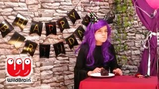 Malice's Birthday Party Goes Wrong 🎂 Cake Fail - Princesses In Real Life | WildBrain Kiddyzuzaa