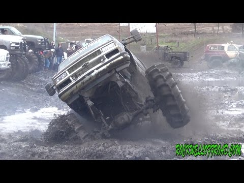 GOT TRACTION?? R2 MUD TEST!! BIG BLOCK TQ