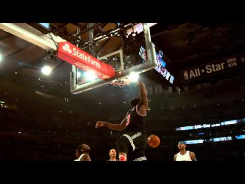 Best Moments from 2015 NBA All-Star Game in Phantom Slow-Mo