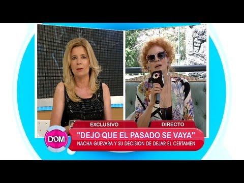 Nacha Guevara se burló de Mercedes Ninci