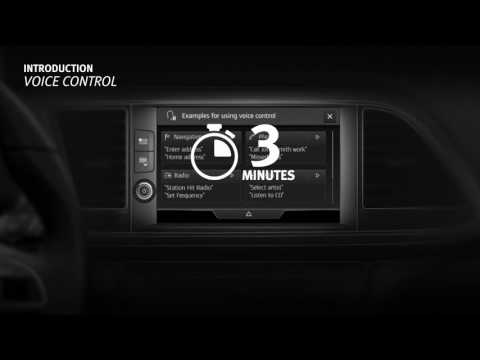 Infotainment System Overview  - SEAT LEON 2018