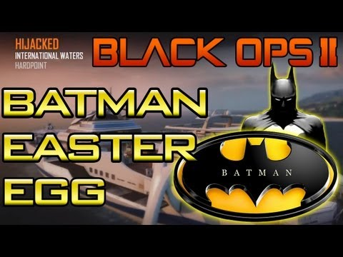 "BO2 - ""Secret Batman Easter Egg"" on Hijacked Black Ops 2 (Unlock"