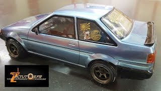 RC Drift RWD model cars in motion @ RC Drift Passion - RC DRIFT - RCTutos #237